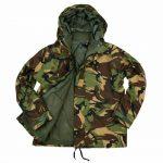 Army kleding
